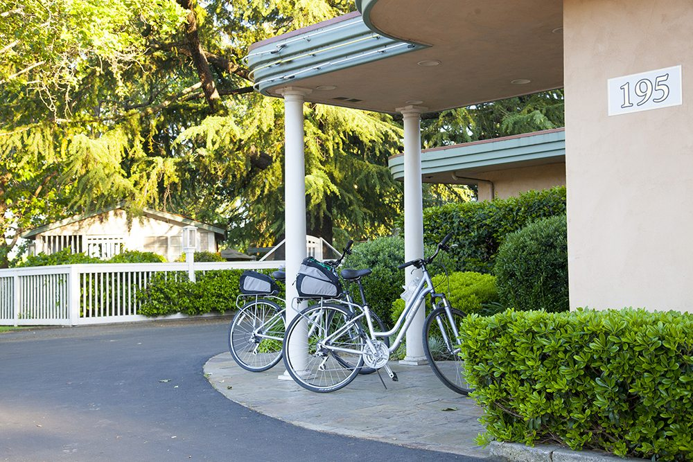 biking is one way to tour napa valley on a budget