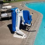 ADA Accessible pool lift